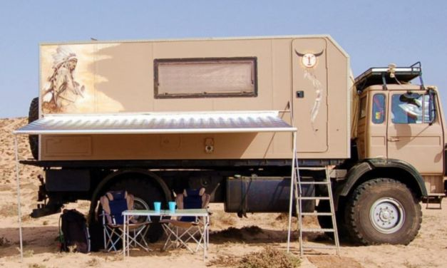 Iveco 110-16 AW all-wheel expedition vehicle – Germany – €27,900