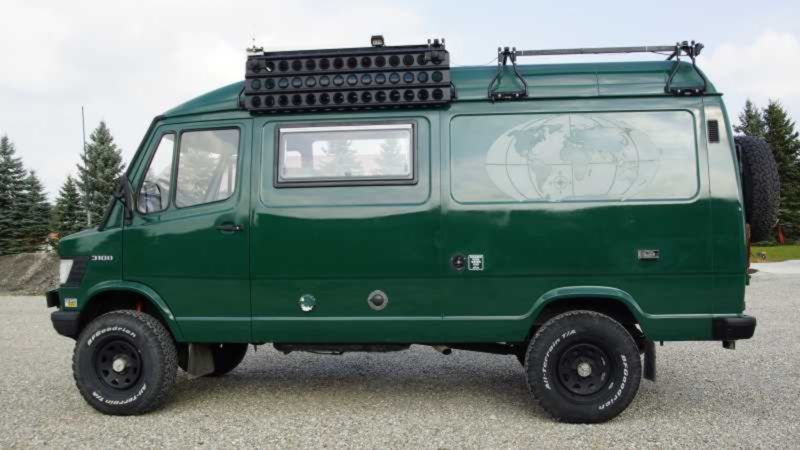 Mercedes-Benz T1 310D 4x4 Camper - Germany €36,500