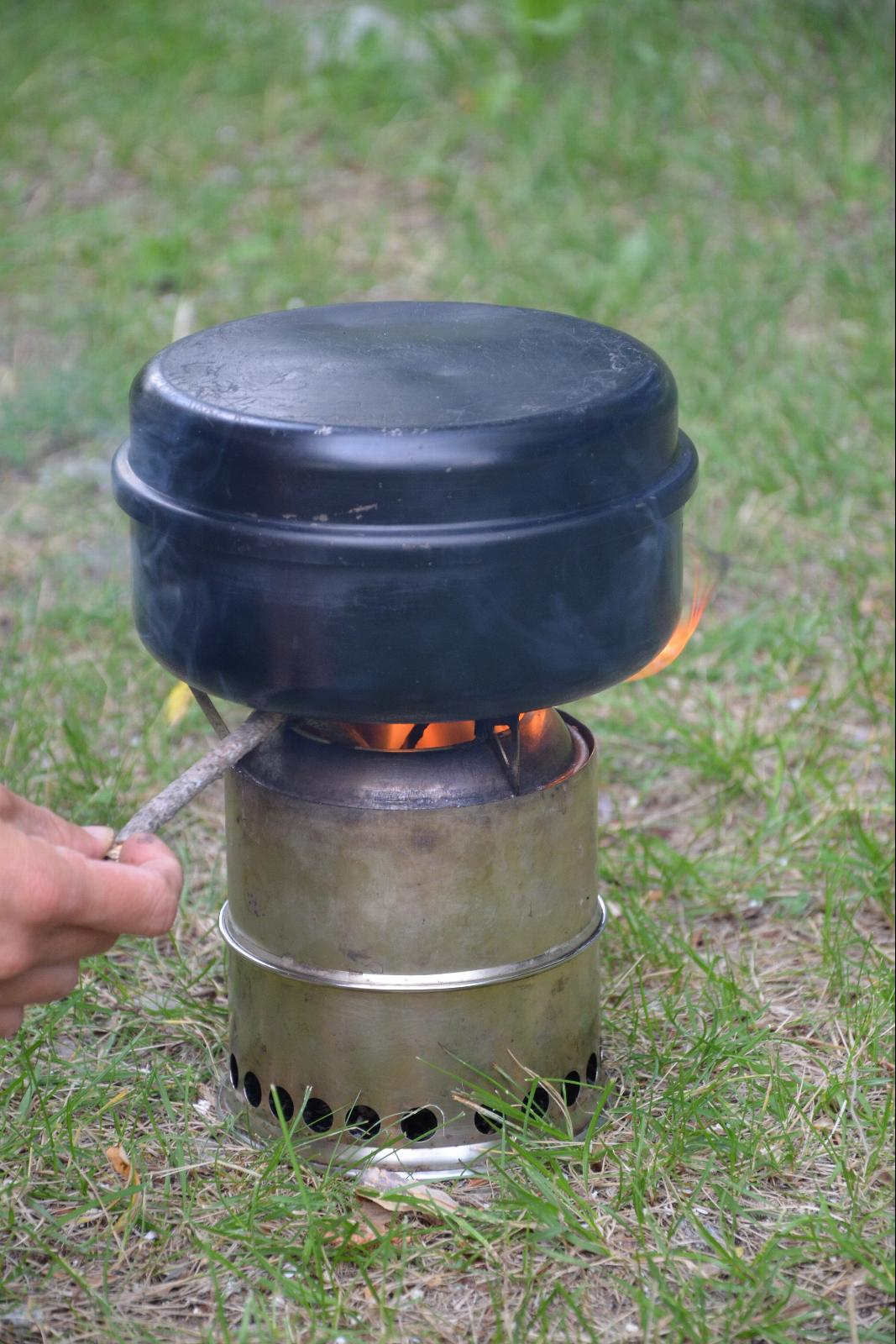 rechaud bois wild woodgas stove