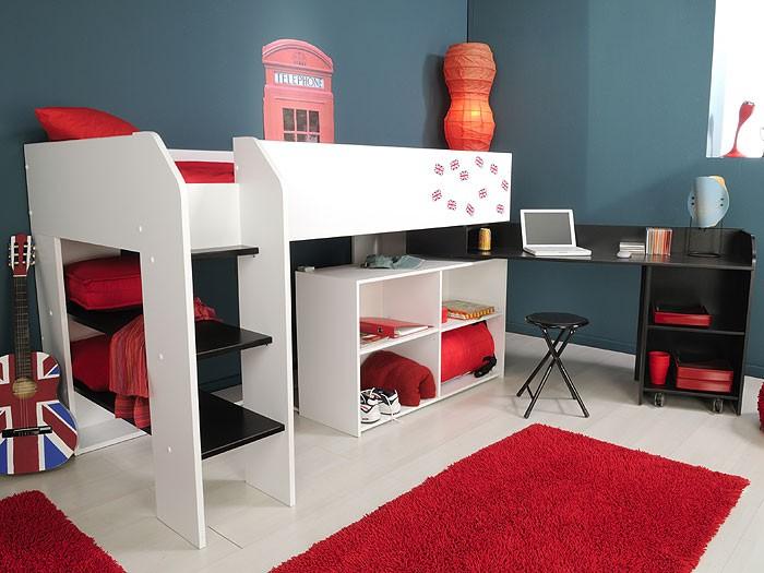 Kinderbett Mit Schreibtisch 2021