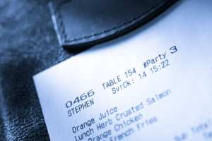 Receipt Imaging For Expense Reports