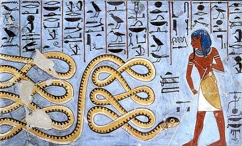 The Serpent Apep in Duat
