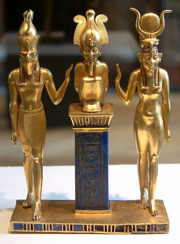 Worship of Osiris - The Triad
