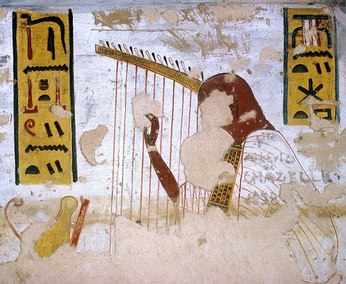 Ancient Egyptian Music, The Harp