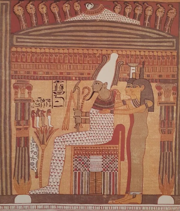 Duat - Osiris on the Throne of Maat