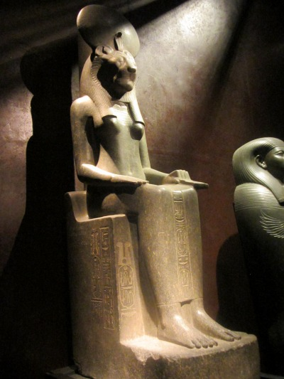 The Eye of Ra and the Destruction of Mankind - Statue of Sekhmet