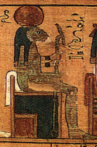 Tefnut in the Book of the Dead