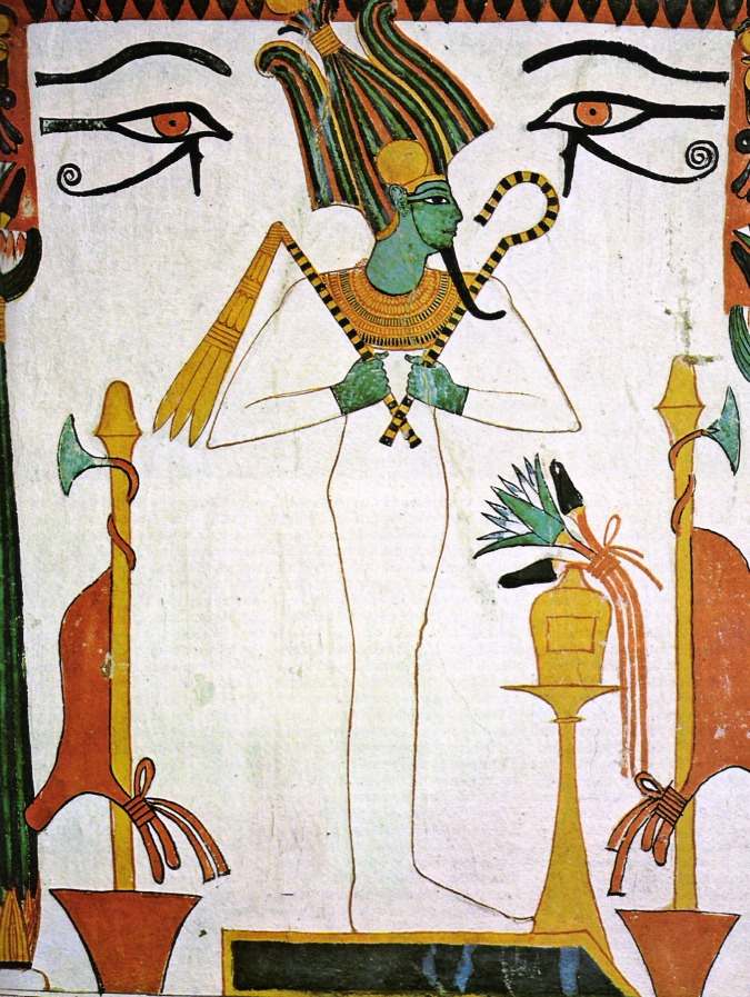 the death and resurrection of osiris The festival of the fall of the nile commemorated his death while the djed pillar festival celebrated osiris' resurrection  and with osiris in death.