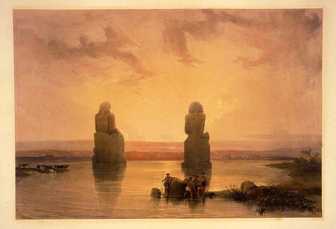 Ancient Thebes - Colossi of Memnon