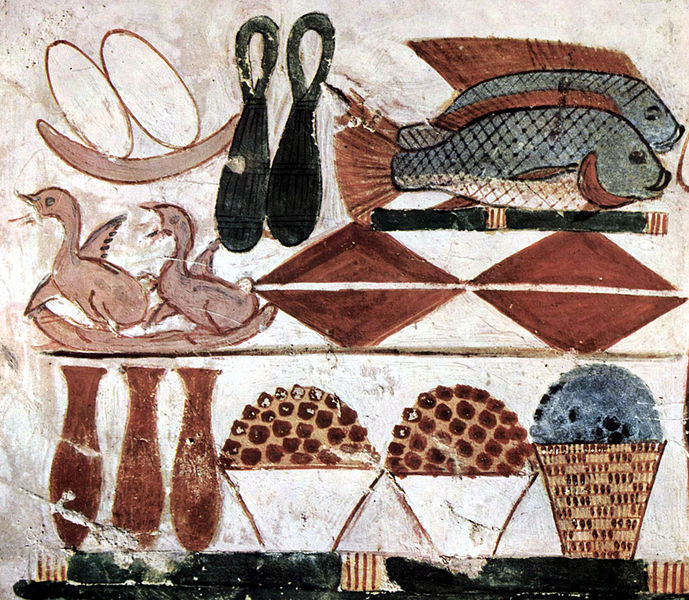 Ancient Egyptian Food - Tomb of Menna