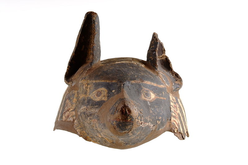 Ancient Egyptian Masks-Anubis - Harrogate Museums and Arts
