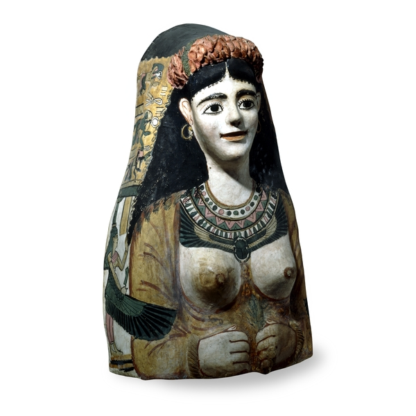 Ancient Egyptian Masks - Mask of a Woman - Roman Period - British Museum