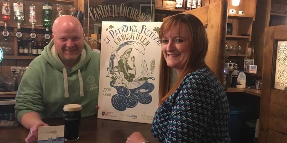 St Patrick day, Project St Patrick, Enniskillen, Parade, Festival, Enniskillen BID, Enniskillen Gift Card,