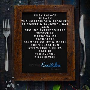 Eat Out to Help Out, Restaurants, Enniskillen,