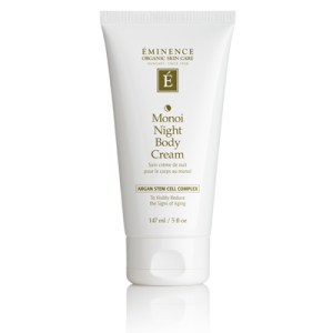 Éminence Monoi Age Corrective Night Body Cream