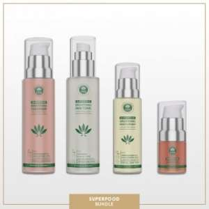 PHB Superfood Skin System 4pc Kit | High-Performance Skin Care For All Skin Types