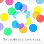 Keynote Apple Septembre 2013