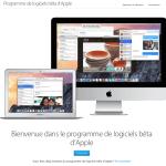 Tester les bêtas Apple iOS et OS X