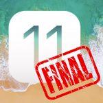iOS 11 GM : Les liens de téléchargements Apple