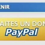 Mise en place d'un bouton de don Paypal