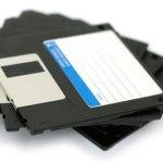 Les disquettes toujours dans le Moove