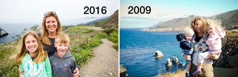 CA Hwy 101 2009 and 2016 collage