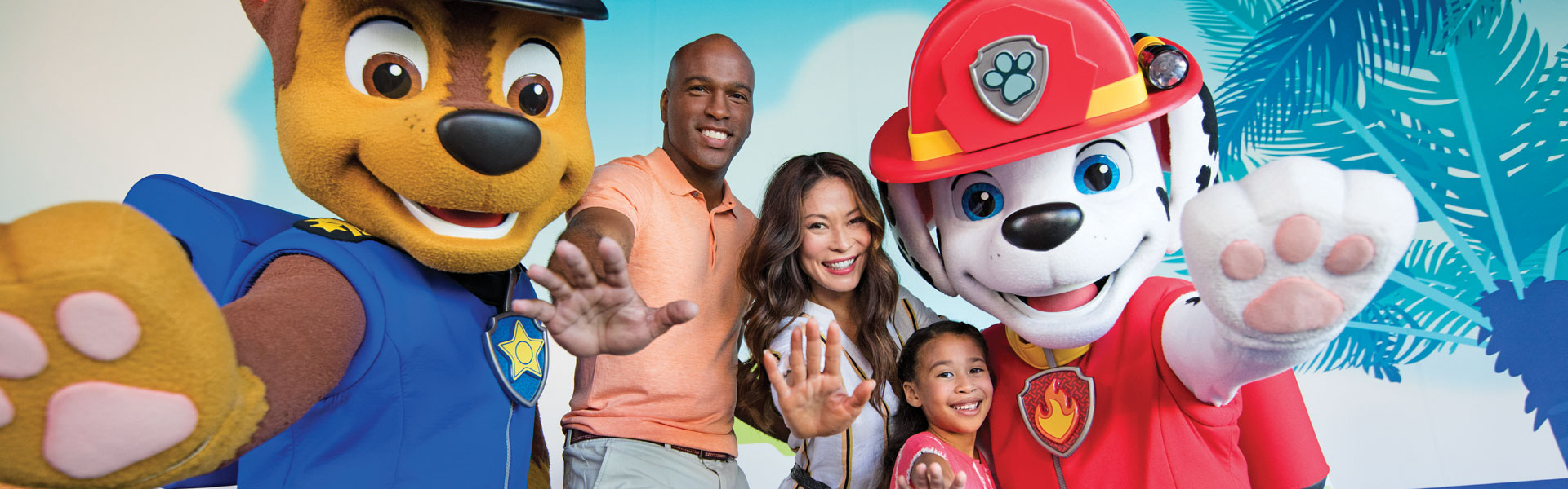 Paw Patrol Live Meet Marshall Chase All Paw Patrol Crew With Experiences By Nick
