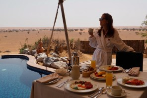 A Night in the Desert at Al Maha Desert Resort