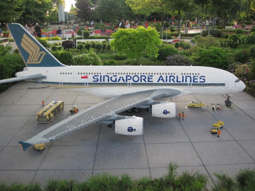 Singapore Airline Lego