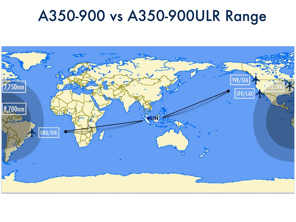 Airbus Adds New A350 900 Variant For Singapore Airlines