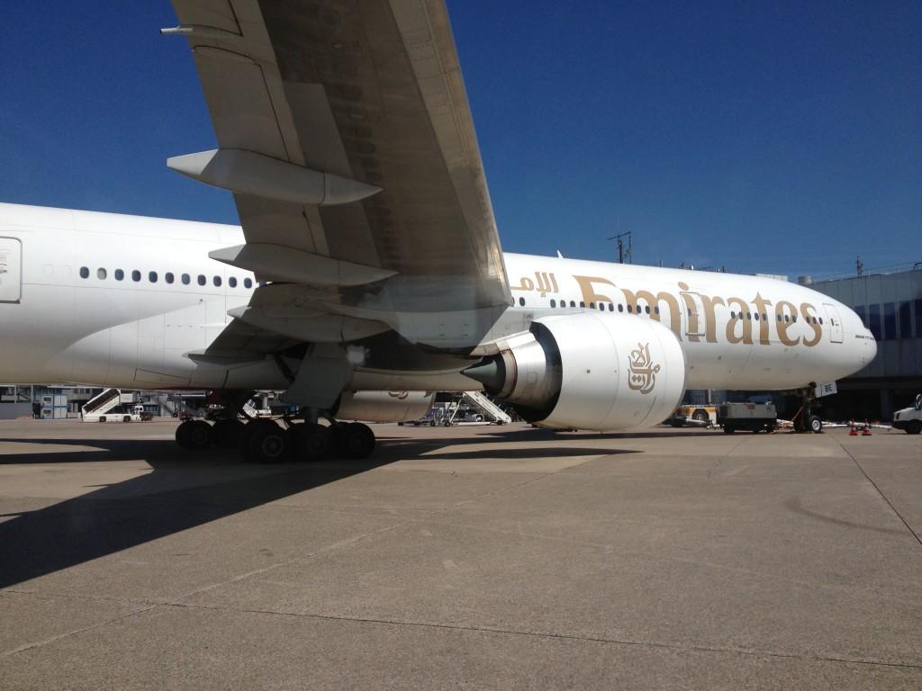 Emirates Boeing 777-300ER at Düsseldorf Airport (DUS)