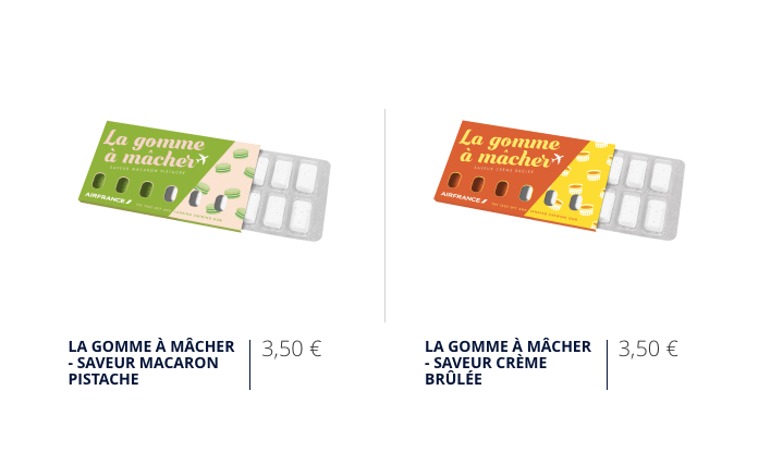 Air France chewing fun on sale online