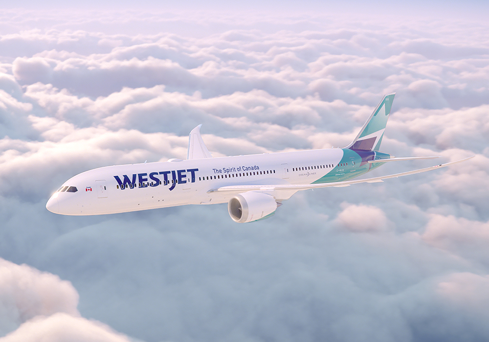 WestJet New Livery