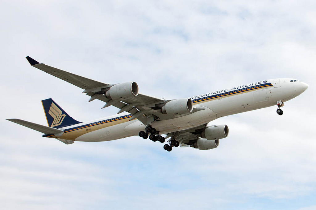 Singapore Airlines A340-500