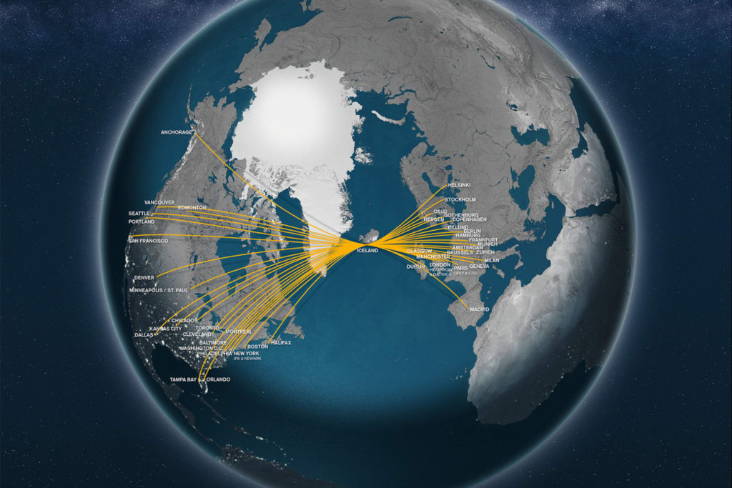 Icelandair Network (October 2018)