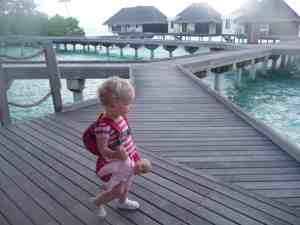 Edie in The Maldives!