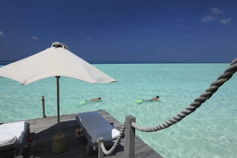 Snorkeling-from-Villa-Private-Deck