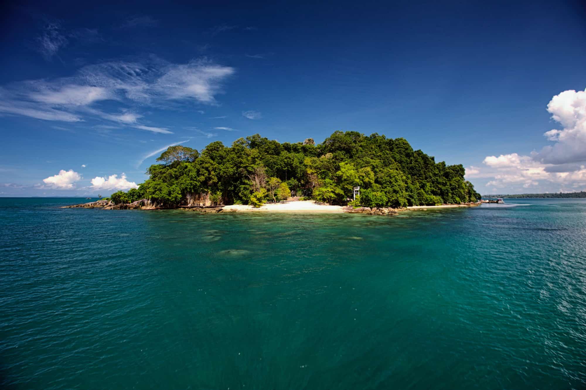 Six Senses Krabey Island in Cambodia