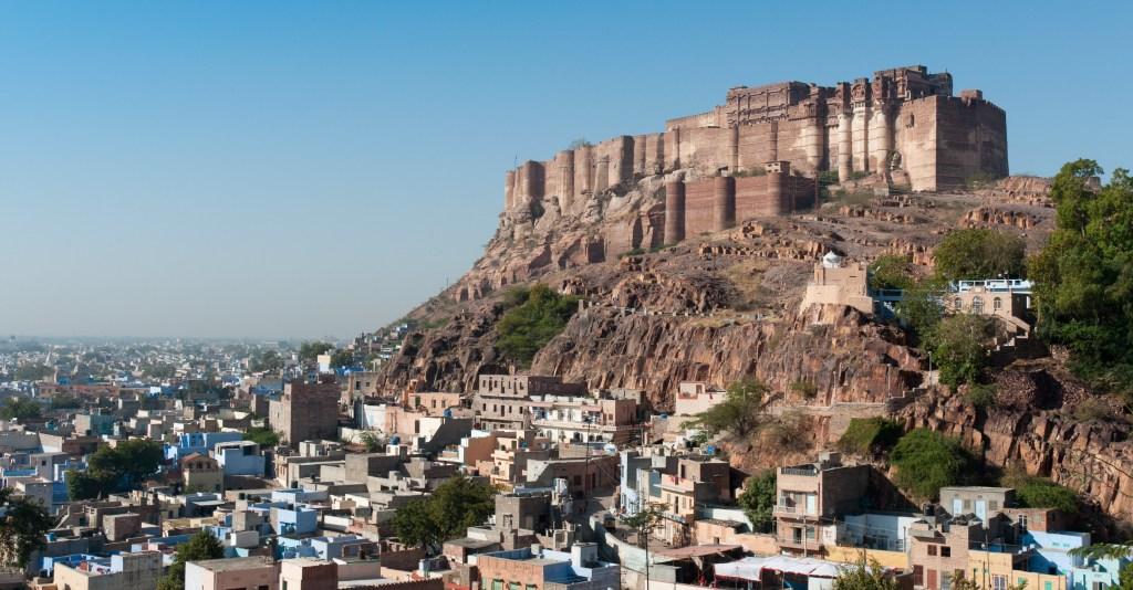 Meherangarth Fort, Jodhpur, Rajasthan, India.