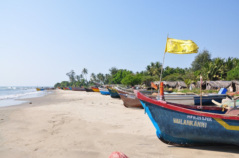 Beautiful Goa beach photo Image by belyakovacat on Pixabay