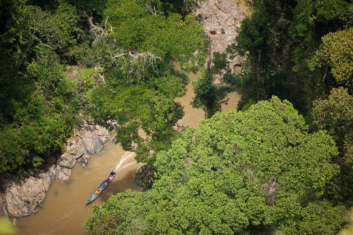 Batu Punggal View in Sapulot