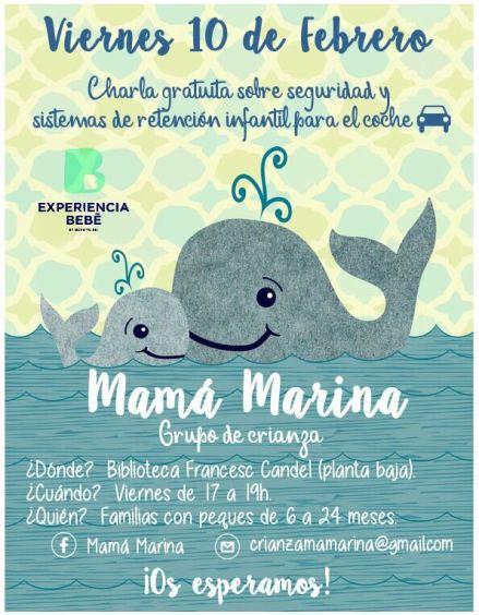 Charla sobre seguridad en Mamà Marina