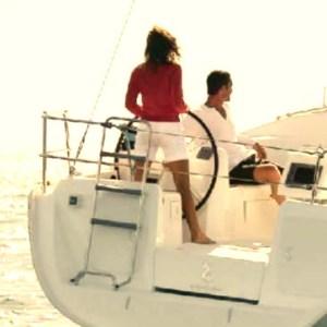 Paseo romántico en velero