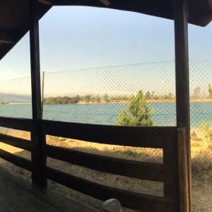 Bungalow en el Camping Playa de Arija en el Embalse del Ebro