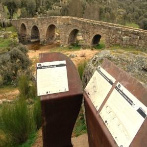 Vista del Puente Mocho en Ledesma
