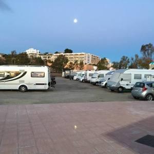Parking para autocaravanas en Águilas en Murcia