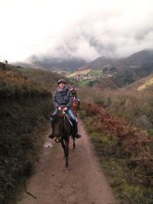 Ruta a caballo por la Sierra de Boria en Cantabria