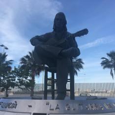 Monumento a Paco de Lucía en Algeciras
