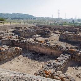 Yacimiento Arqueológico Castillo de Doña Blanca en el Puerto de Santa María en Cadiz