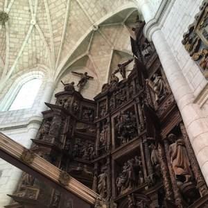 Conjunto monumental de Santa Clara en Briviesca
